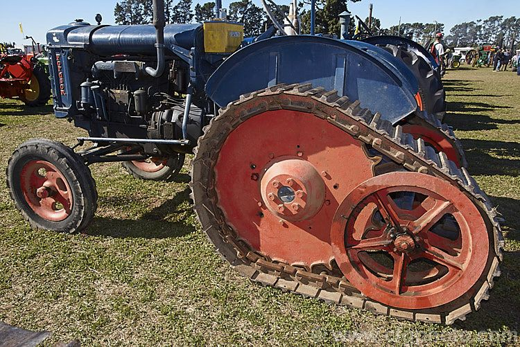 A Perkins Diesel Powered Half Tracked 1949 Fordson Major