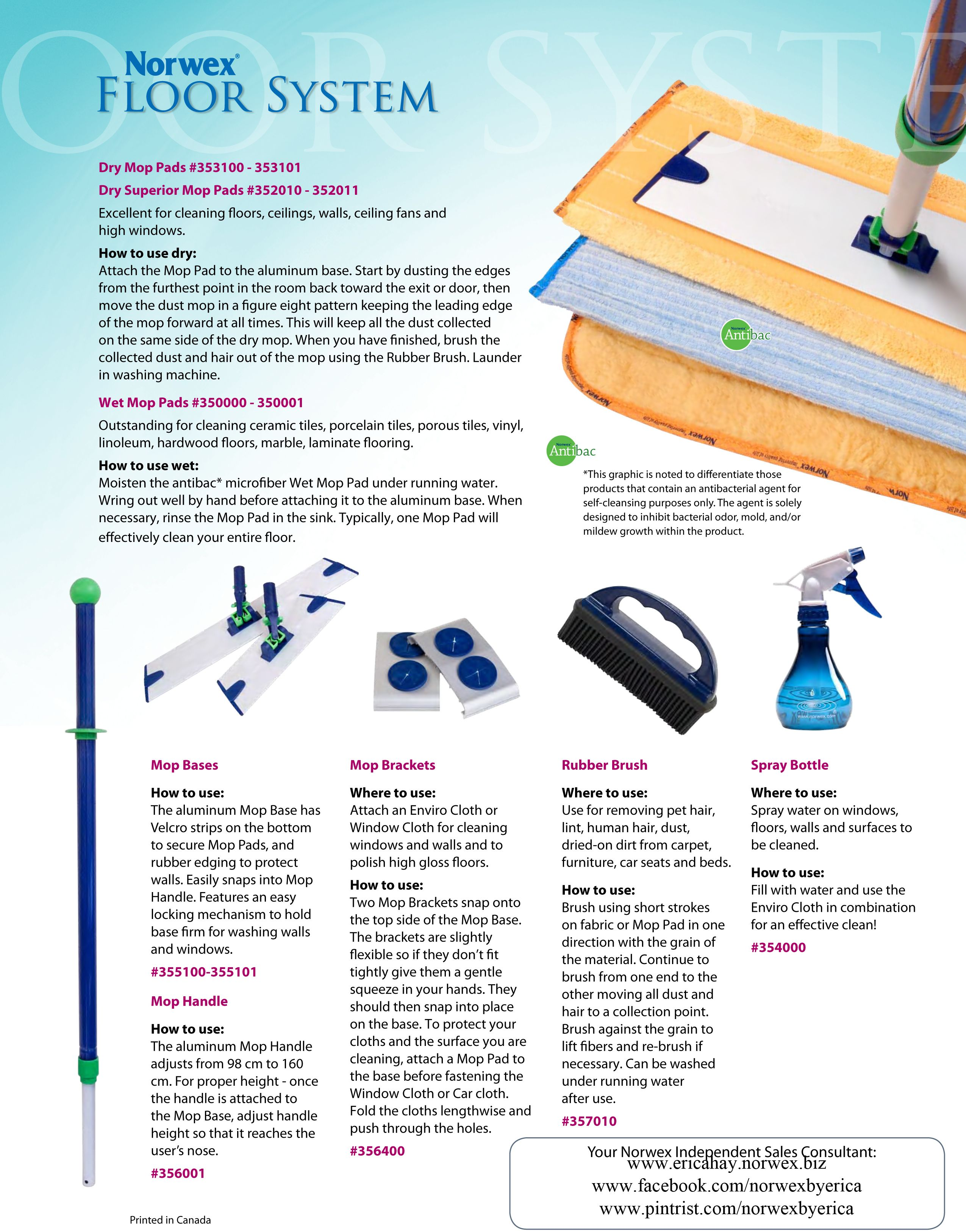 Norwex Floor System Don T Forget The Rubber Brush