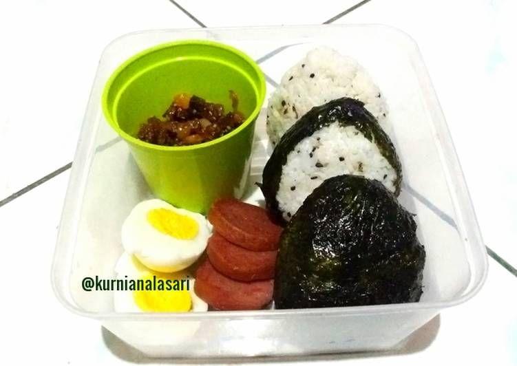 Resep Onigiri Nasi Kepal Isi Daging Bekal Simple Oleh Kurnianalasari Resep Resep Piknik Rebusan