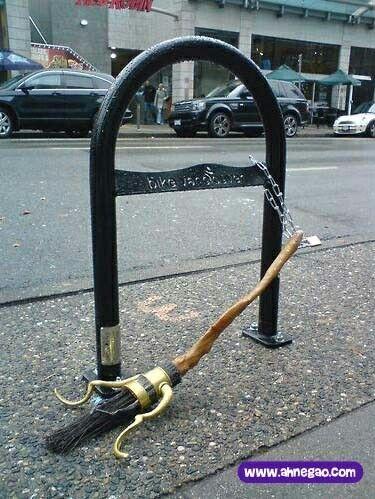 A Parked Broom Holidays Halloween Pinterest Harry Potter