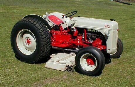 Ford 8n W Belly Mower Micro Tracteur Tracteur Ancien Tracteur