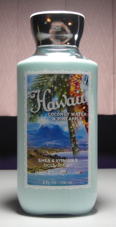 Bath & Body Works - Hawaii Coconut Water & Pineapple lotion $4 - click photo to purchase