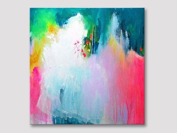 Ursprungliche Kunst Abstrakte Malerei Moderne Kunst Abstrakte