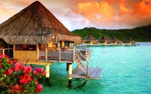 Just want a week here Bora Bora Bora