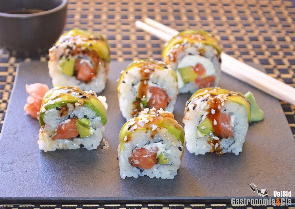 Pin En Recetas De Sushi
