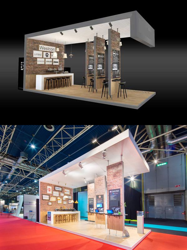 Exhibition Stands Prices : Stand design construction u example prices exhibit booths
