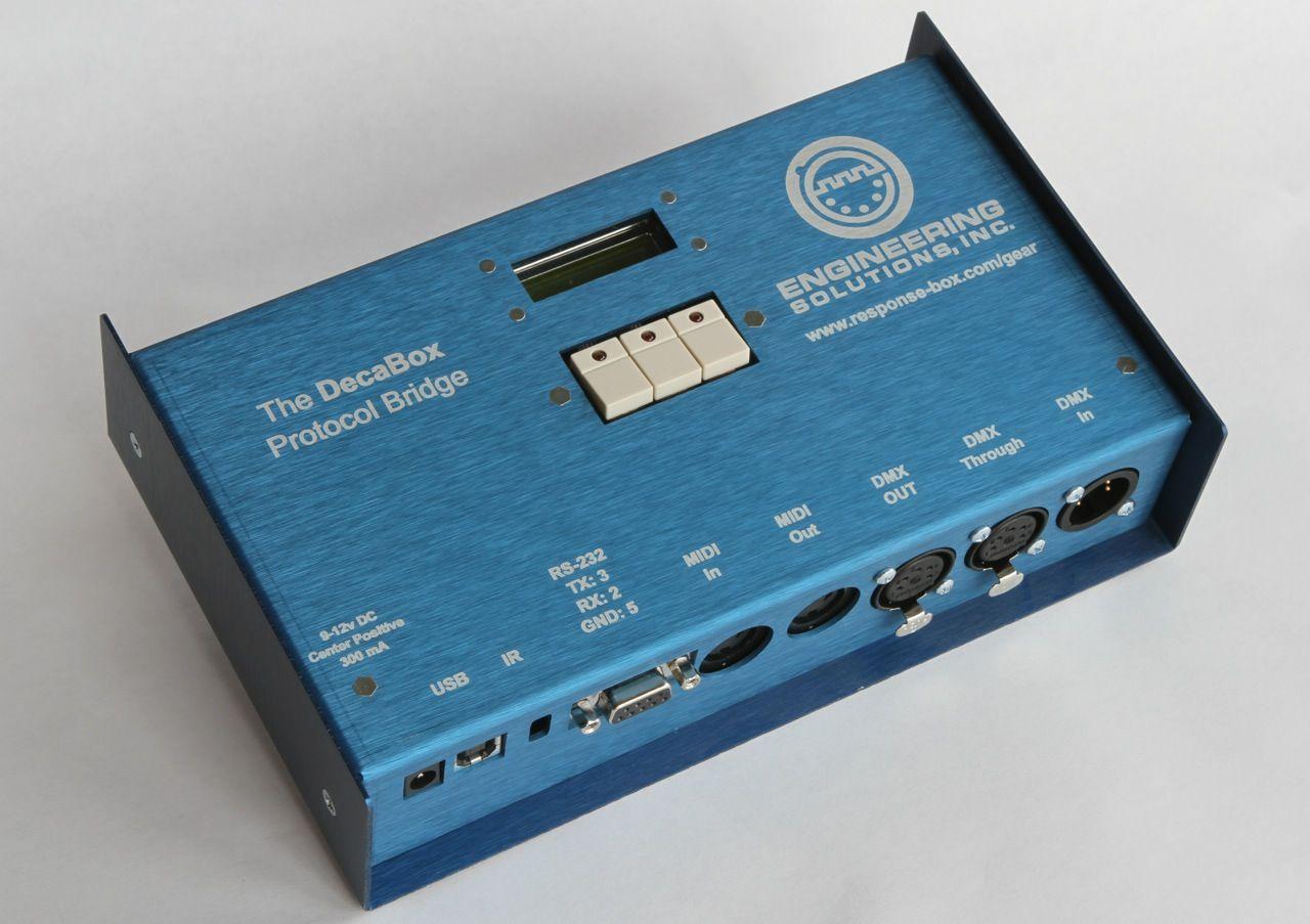 Decabox Laser Etched Dmx Dmx Lighting Drum Machine