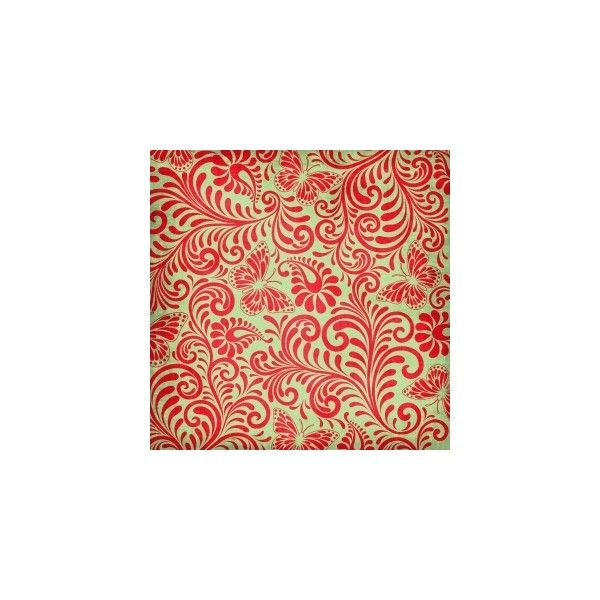 Background Red Green Floral Paper Digital Scrapbooking Free Download - swirl image | Digital Scrapbooking 2.0 found on Polyvore