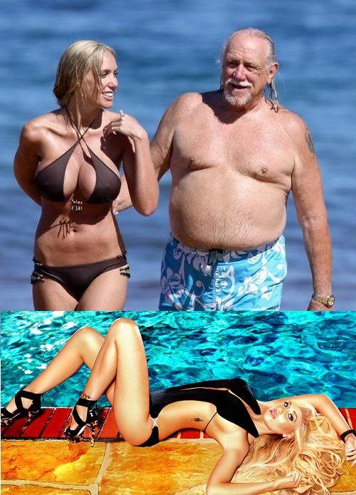 Celebrities dating older guys