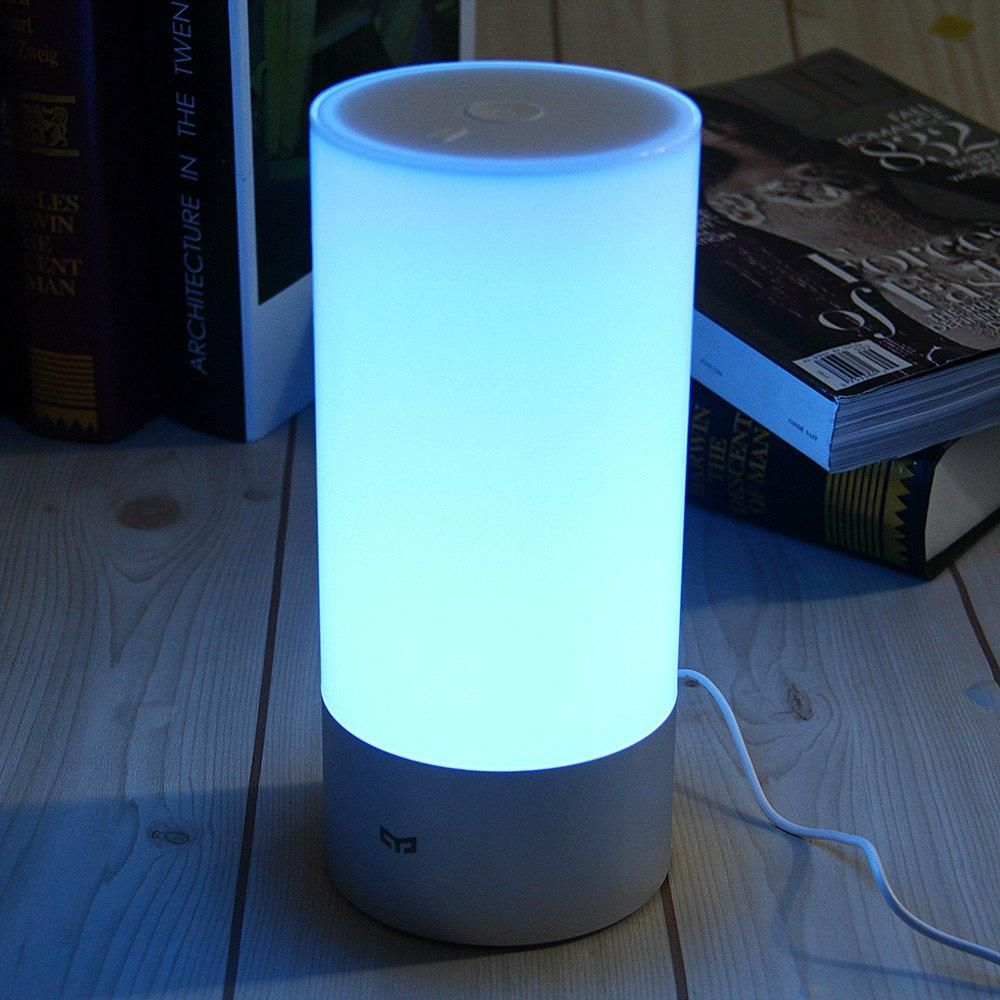 Original Xiaomi Yeelight Bedside Lamp Indoor 16 Million Rgb Touch Smart Control Apps Bedside Lamp Night Light Bedside Night Lamps
