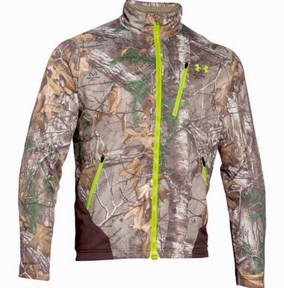 bee280261fd67 Under Armour Storm Scent Control Barrier Jacket Men's Large Realtree1262326  946 #UnderArmour #CoatsJackets
