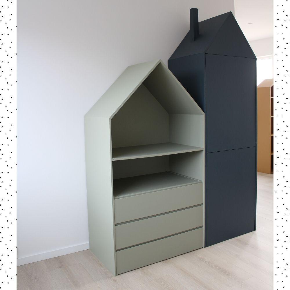 Schrankhaus bauen mit IKEA: LILLE HUS im Großformat – Limmaland Blog