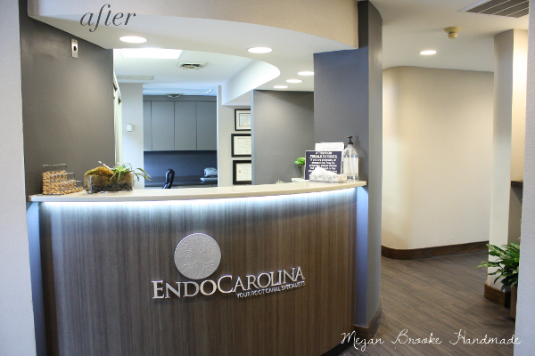Before & After:: Dental Office Renovation | Reception ...