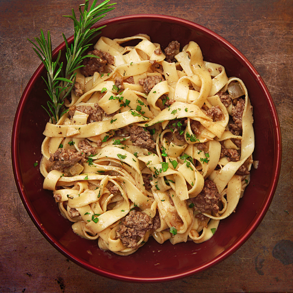 Pick Up Ground Beef Garlic And Knorr Pasta Sides