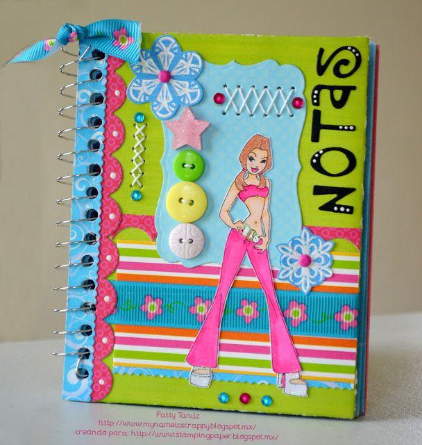 Decoracion cuadernos on pinterest composition books - Libros para decorar ...