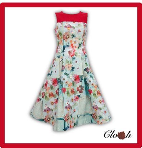 Closh Boutique 2013 SpringSummer Collection floral dress