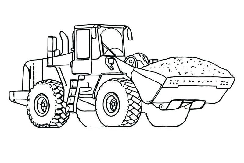 Printable Tractor Coloring Pages For Kids Free Coloring Sheets Tractor Coloring Pages Mermaid Coloring Pages Truck Coloring Pages