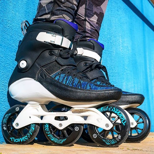 d56089b5d18 Powerslide SWELL Trinity 110 Voltage Blue . #swellskateclub  #powerslideswell #powerslide #befreewiththree #weloveskate #rollerobics  #rollerobicstraining ...
