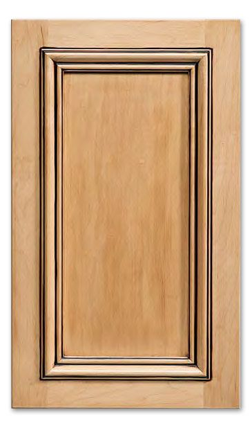 San Marino - Paint Grade Poplar Frame with MDF Panel cabinet doors