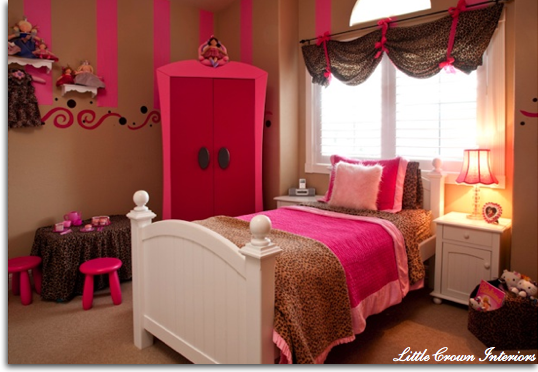 Creative Girls Room Window Treatments