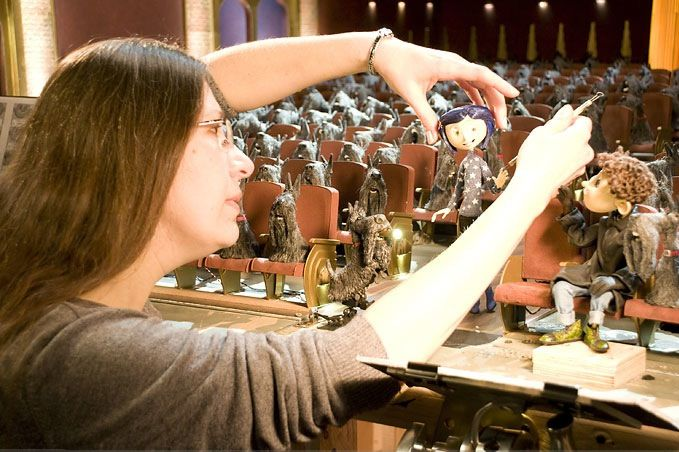 Behind The Scenes Coraline Buscar Con Google Coraline Stop Motion Animation Stop Motion