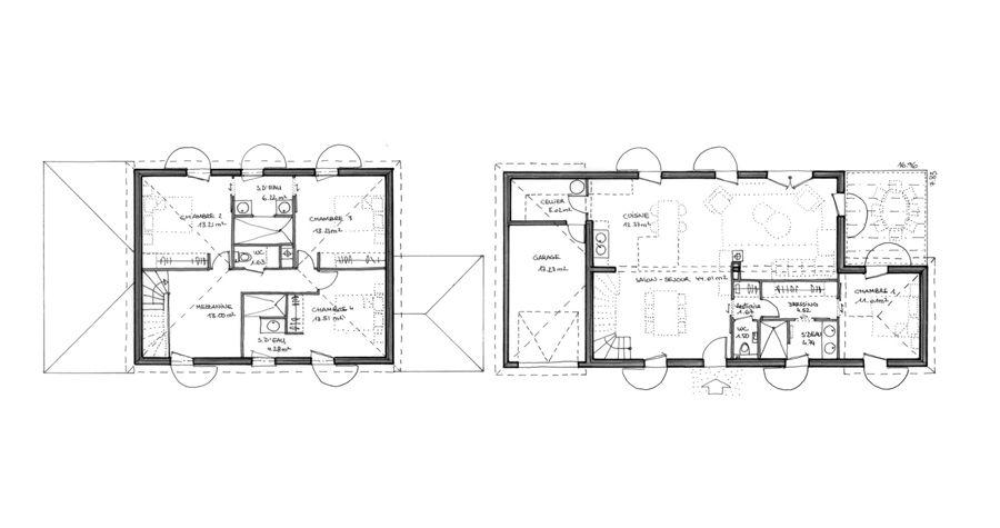 Maison moderne Belgrave - Maison moderne - IGC Construction