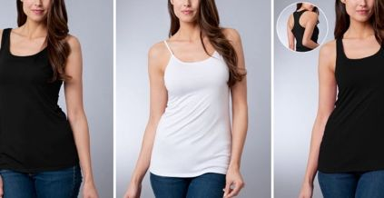 10 cool 'Made in USA' products= Second Base (Los Angeles, Calif.) Ladies, when was the last time you bought unmentionables that were not made overseas? Exactly. The company offers a line of camisoles made of ultra soft, micro modal fabric. The products are designed and made in Los Angeles.