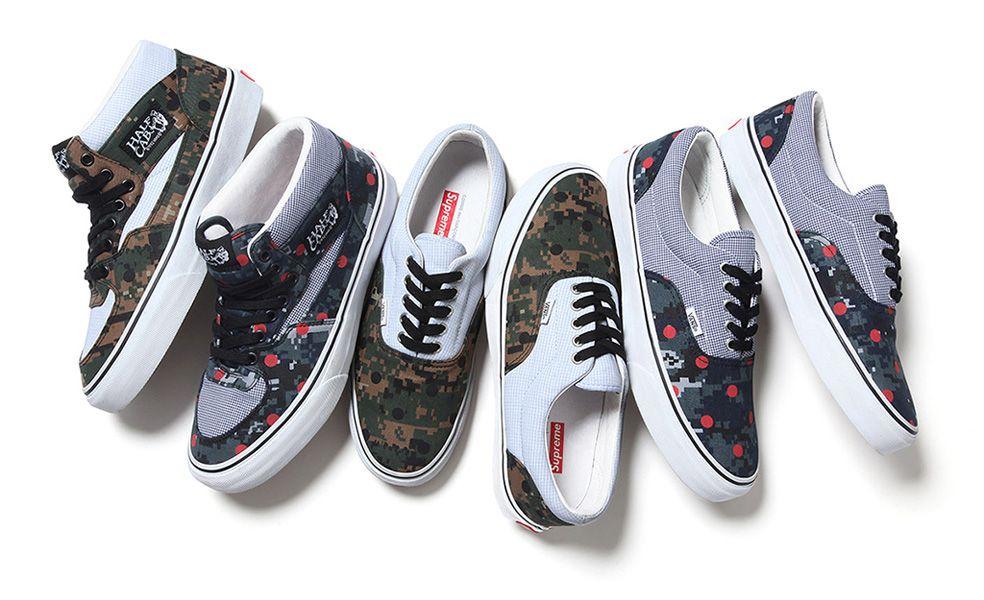 supreme x vans x comme des garcons | Vans, Sneakers, Comme des garcons