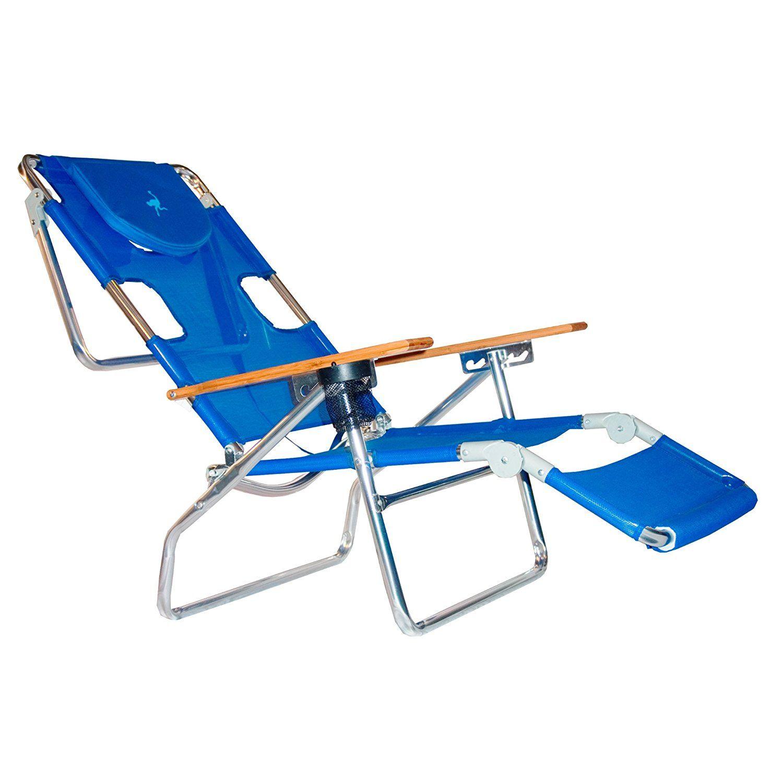 Ostrich 3 N 1 Beach Chair / Lounger Color Blue [3N11001B