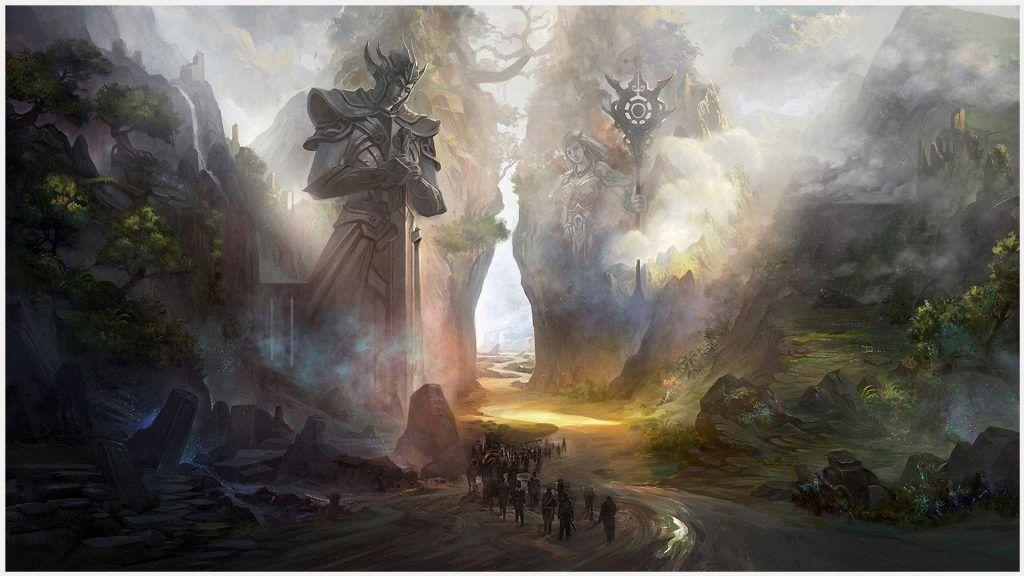 Ancient World Fantasy Wallpaper ancient world fantasy