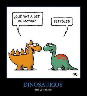 El Futuro De Los Dinosaurios Es Humor En Espanol Chiste En Espanol Espanol Divertido