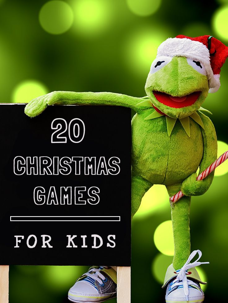 25+ Fun Christmas Party Games for Kids + Family Friendly