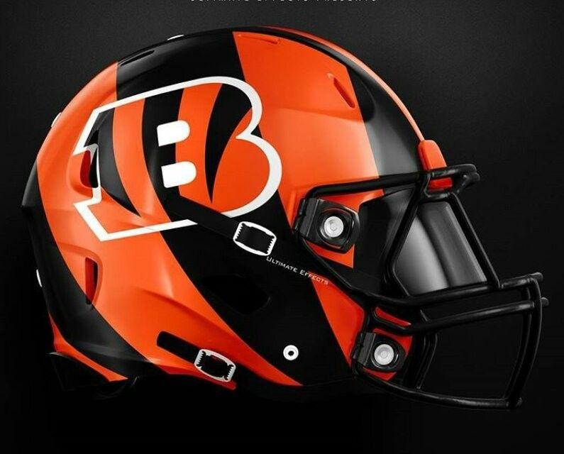 Pin By Jimmy Mccloskey On Football Helmet Bengals Football