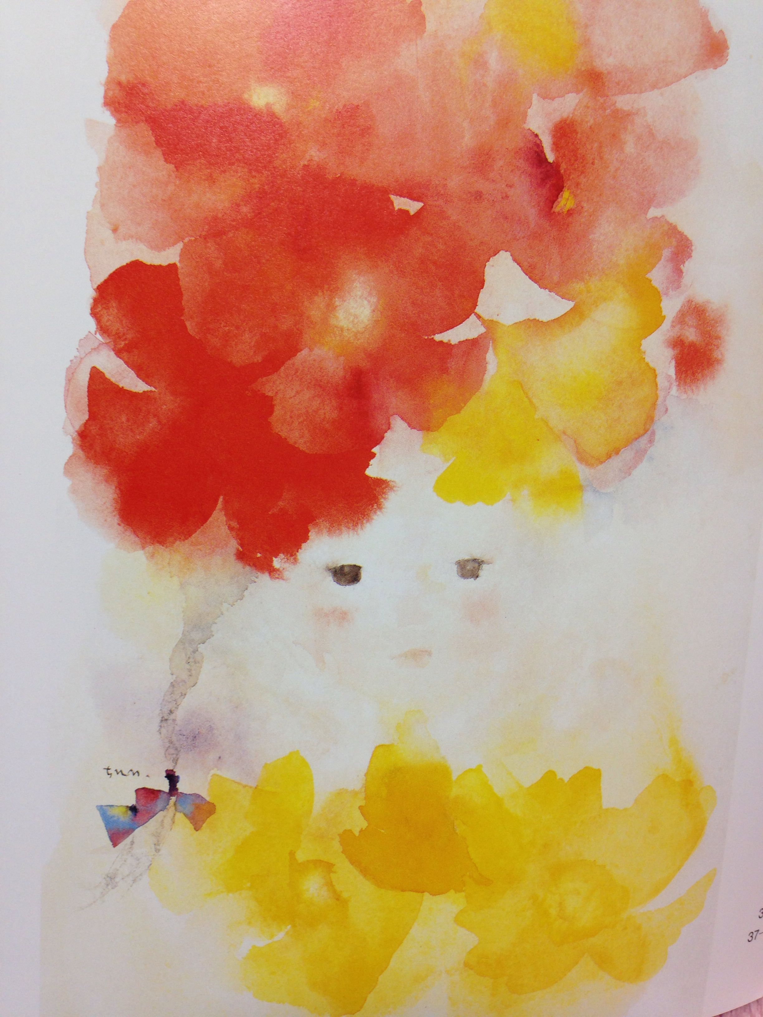 Another Beautiful Chihiro Iwasaki Painting 画像あり 水彩画