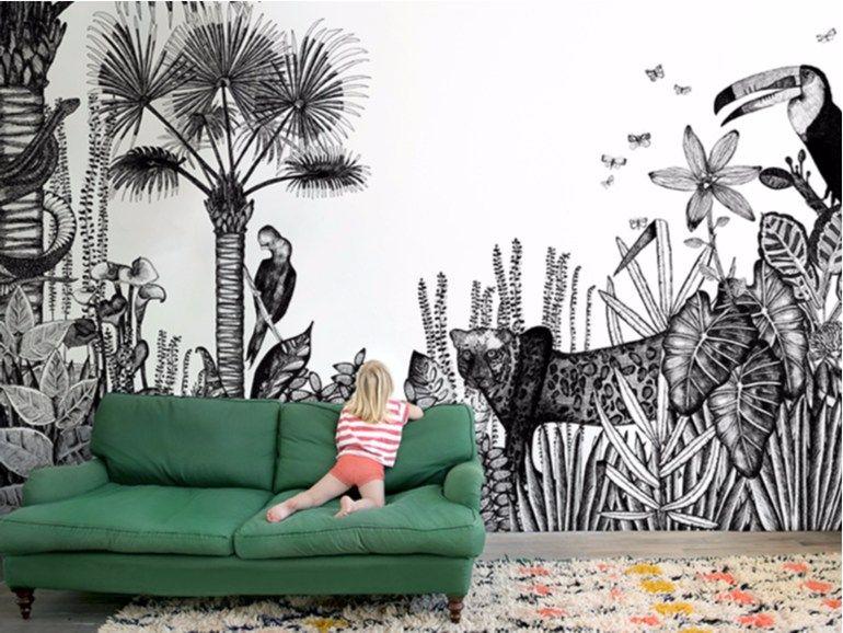 Papier peint à motifs THE WILD by Bien fait papier peint
