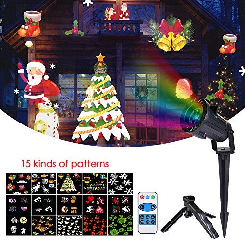 Review ZSL Halloween Christmas Projector Lights with Remote Control