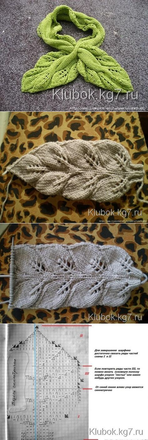 Klubokkg7ru вязание Knitting Knitting Stiches и Knit Crochet