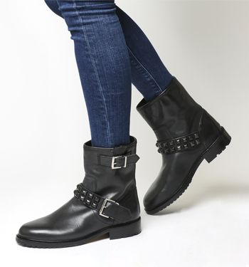 Women S Ankle Boots Black Brown Grey Office