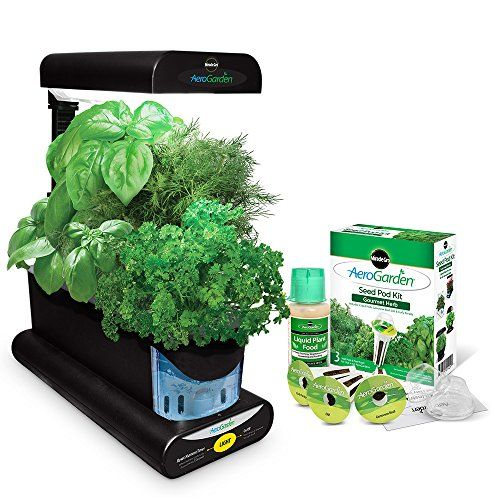MiracleGro AeroGarden Sprout with Gourmet Herb Seed Pod https