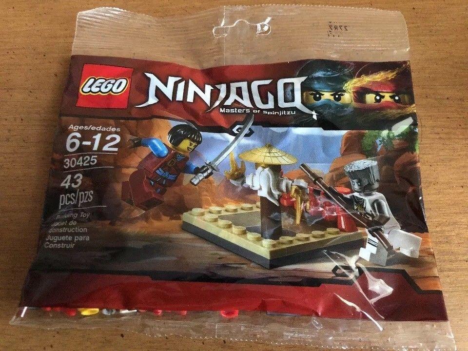 Lego Ninjago Mini Set 30425 Polybag Cru Masters Training Grounds New Sealed Ebay Lego Ninjago Ninjago Lego