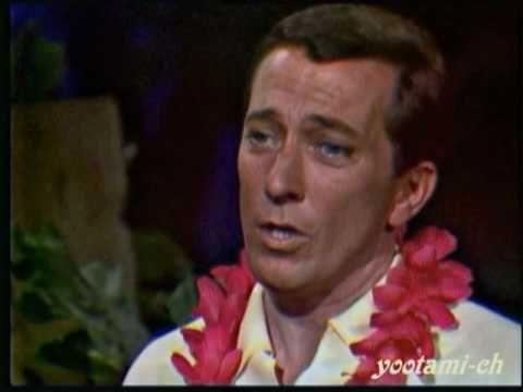 Andy Williams The Hawaiian Wedding Song Youtube Wedding Songs Hawaiian Wedding Andy Williams