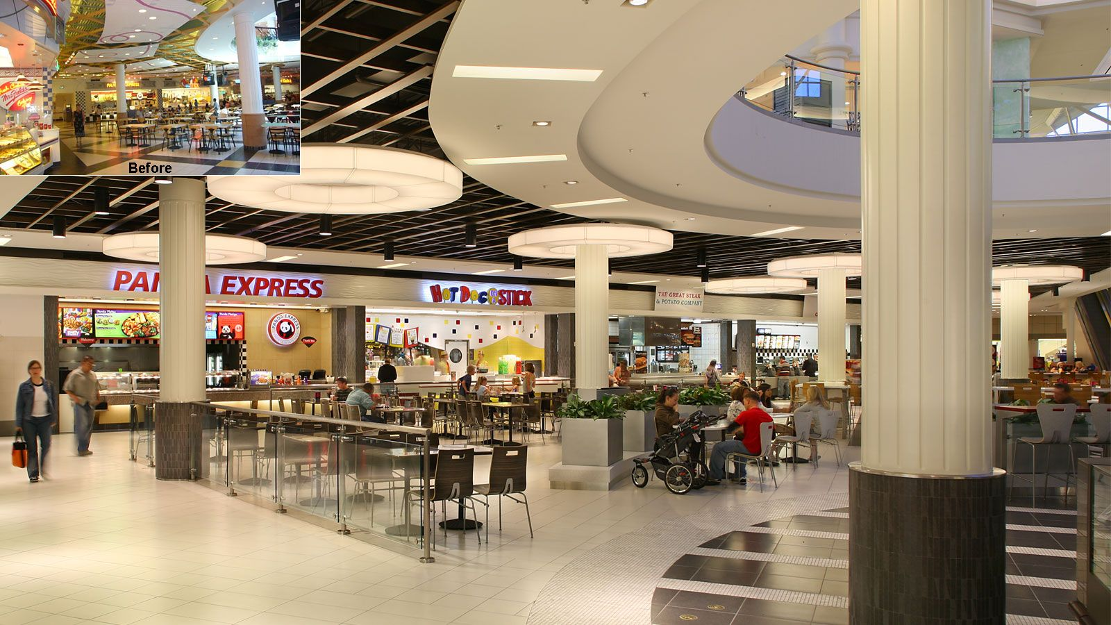 Temecula Costco Food Court