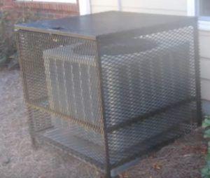 Air Conditioner Security Cage Kits Air Conditioner Conditioner Outdoor Storage Box