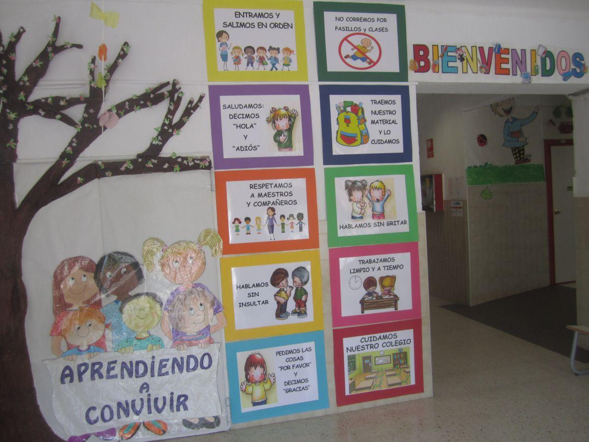 Propuesta De 10 Normas De Convivencia Para Armonizar Y Fomentar La Convivencia Escolar Inc 10 Normas De Convivencia Normas De Convivencia Decoracion De Aulas