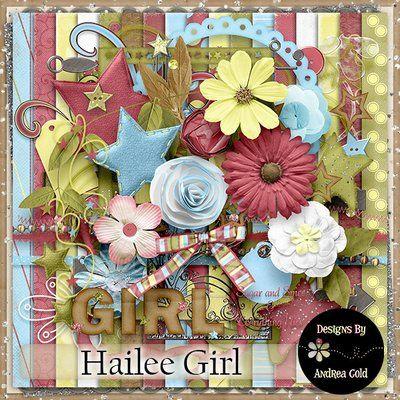 Hailee Girl {Scrapkit}