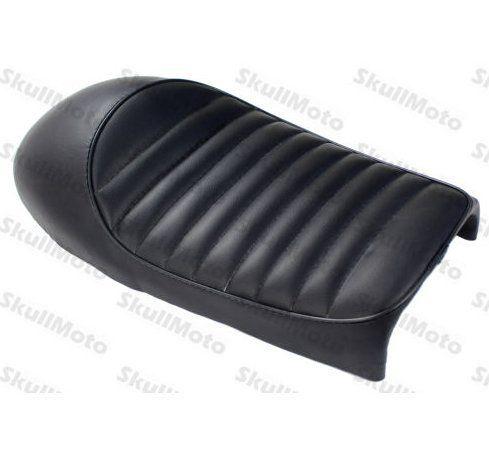 amazon: (generic) black vintage hump cafe racer seat for kz