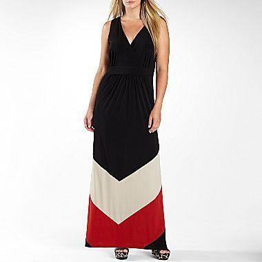 Studio 1® Sleeveless Maxi Dress-Plus Sizes - jcpenney....SO PRETTY ...