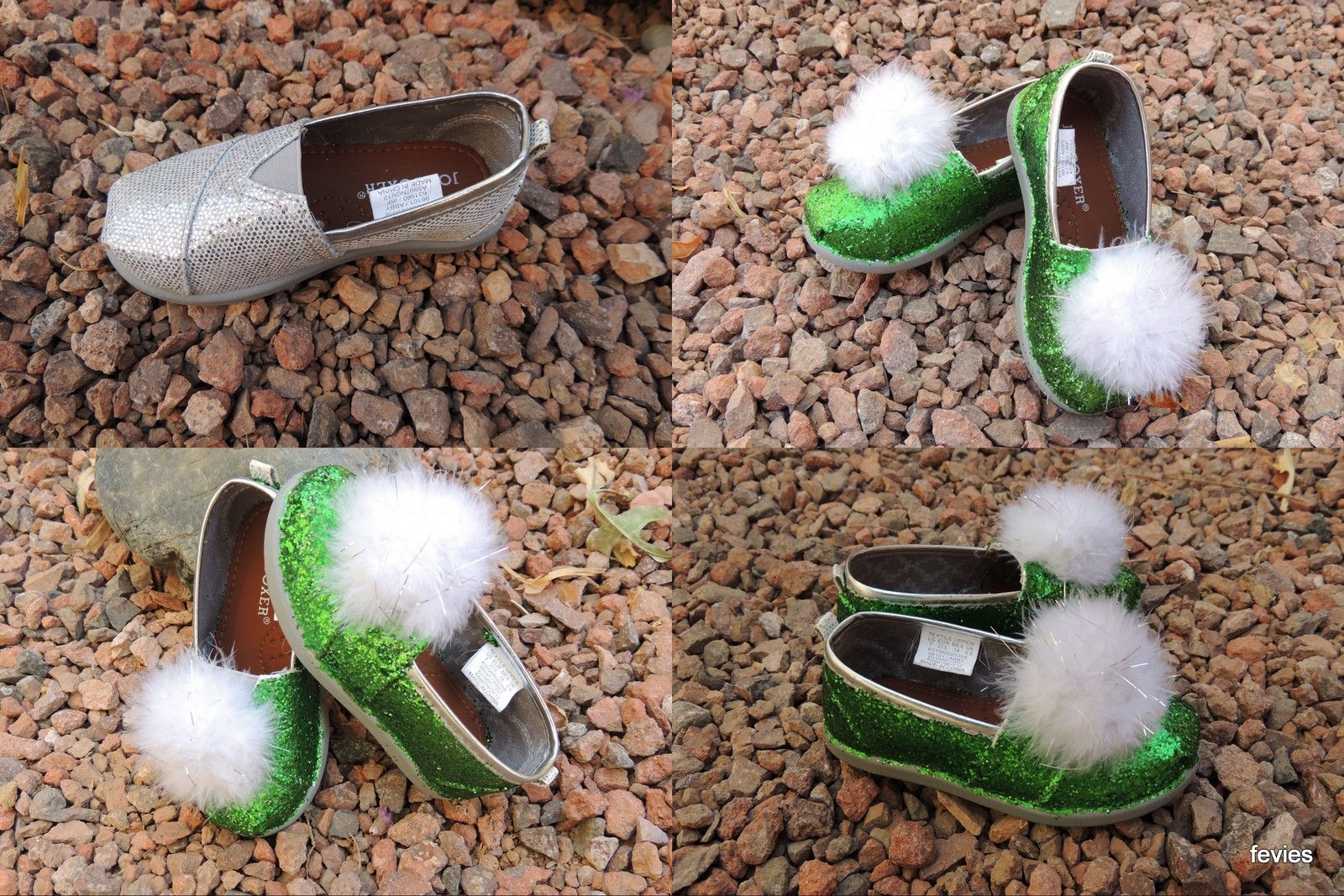DIY Tinker Bell jingle shoes for toddlers for less than $10.   Ali ...