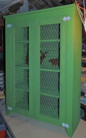 Jelly Cabinet Pie Safe Do It Yourself Home Projects From Ana White