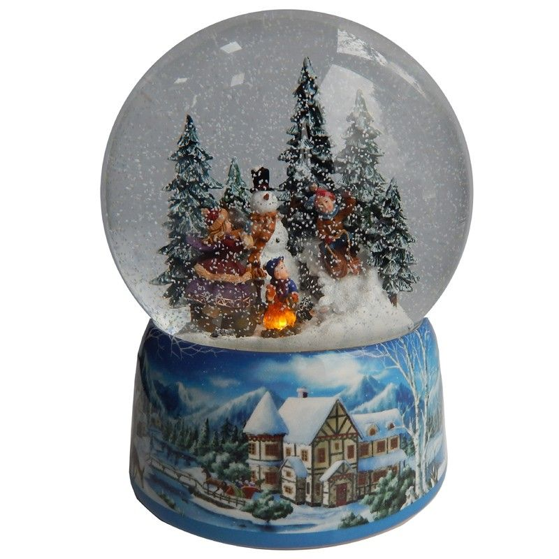 gifts kingdom large snowman snow globe snow globes gifts kingdom - Large Christmas Snow Globes